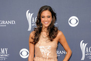 Actress Jana Kramer arrives at the 46th Annual Academy Of Country Music Awards RAM Red Carpet held at the MGM Grand Garden Arena on April 3, 2011 in Las Vegas, Nevada.