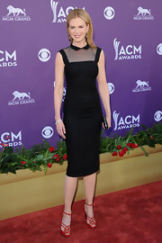 Nicole Kidman looked classic in this collared LBD at the Academy of Country Music Awards.
