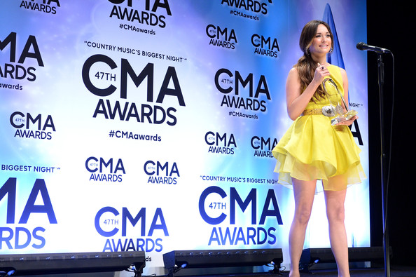 More Pics of Kacey Musgraves Printed Belt (1 of 7) - Belts Lookbook - StyleBistro [talent show,fashion,advertising,performance,event,fashion design,stage,competition,kacey musgraves,cma awards,room,press room,nashville,united states,bridgestone arena,artist of the year,cma awards]