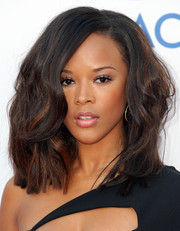 Serayah McNeill attended the NAACP Image Awards rocking big hair.