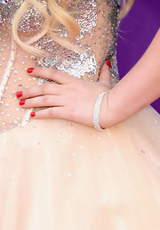 RaeLynn sparkled in a skinny diamond bracelet, which she sported at the 2013 ACMs.