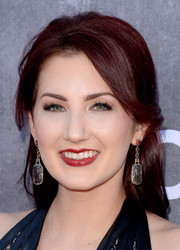 Katie Armiger pulled her hair back into a loose half-up 'do for the ACM Awards.