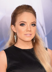 Danielle Bradbery styled her ombre locks into a classic half-up 'do for the CMA Awards.