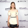 Nora Zehetner in Calvin Klein at the 2013 amfAR Inspiration Gala New York