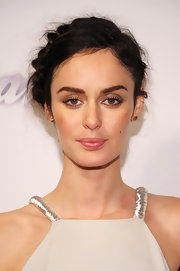 Nicole Trunfio's Heidi braid looked cool and classy on the red carpet.