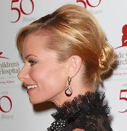 Jaime Pressly wore her hair in a classic bun at the 50th anniversary celebration for St. Jude Children's Research Hospital.