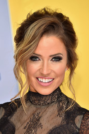 Kaitlyn Bristowe got all glammed up with this messy-chic updo for the CMA Awards.