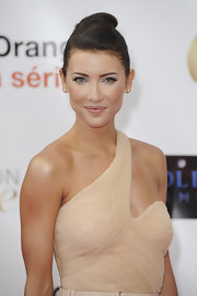Jacqueline MacInnes Wood sported a futuristic updo at the Monte Carlo TV Festival opening ceremony.
