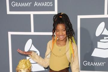 Willow Smith at the Grammy's