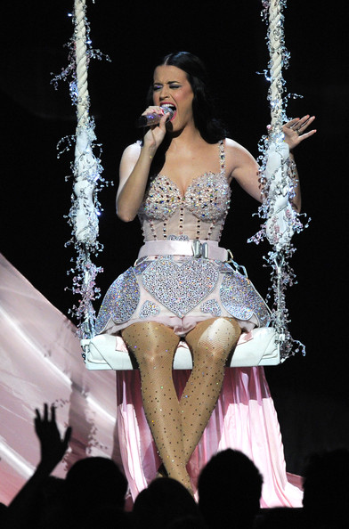 More Pics of Katy Perry Corset Dress (2 of 17) - Dresses & Skirts Lookbook - StyleBistro [performance,entertainment,performing arts,performance art,lady,stage,event,music artist,public event,singer,california,los angeles,staples center,annual grammy awards,show,signer katy perry]