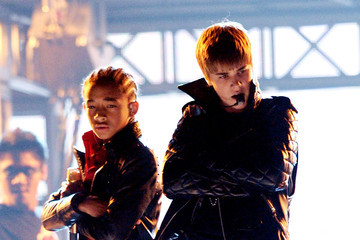 Jaden Smith Justin Bieber The 53rd Annual GRAMMY Awards - Show