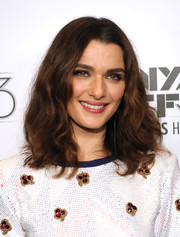 Rachel Weisz sported loose, high-volume waves during the New York Film Festival premiere of 'The Martian.'