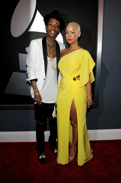 More Pics of Amber Rose One Shoulder Dress (1 of 5) - Amber Rose Lookbook - StyleBistro