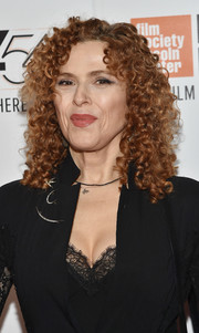 Bernadette Peters stuck to her signature curls when she attended the New York Film Festival premiere of 'A Quiet Passion.'