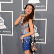 Alicia Arden at the Grammy Awards 2013