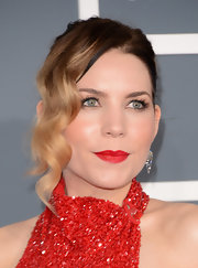 Skylar Grey's ombre hair color was especially noticeable with this updo.