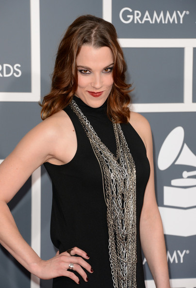 More Pics of Lzzy Hale Layered Chainlink Necklaces (2 of 3) - Lzzy Hale Lookbook - StyleBistro