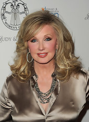 With her coiffure, jewels, and shimmery outfit, Morgan Fairchild looked perfectly pulled together during the Women's Guild Cedars-Sinai Gala.