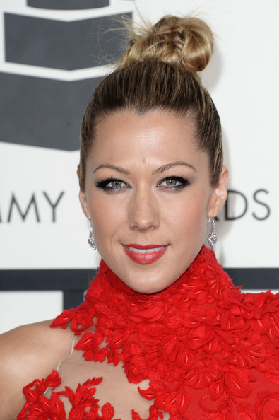 More Pics of Colbie Caillat Braided Bun (1 of 12) - Colbie Caillat Lookbook - StyleBistro