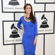 Laura Sullivan at the 2014 Grammy Awards
