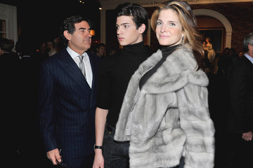Stephanie Seymour Peter Brant 57th Annual Winter Antiques Show Opening Night