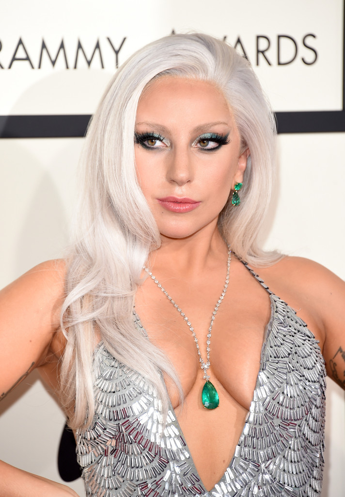 Lady Gaga Gray Hair Don T Care 15 Celebrities With