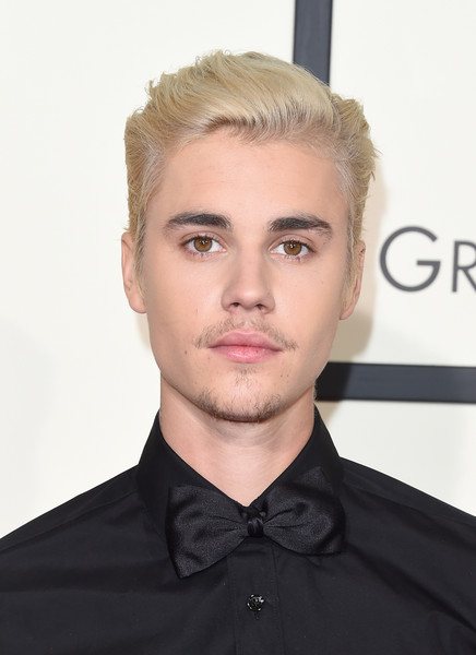 Justin Bieber looked so handsome with his neat hair at the 2016 Grammys.