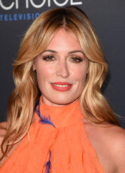 Cat Deeley was boho-glam with her long waves and center-parted bangs at the Critics' Choice Television Awards.