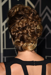 Stacy Keibler attended the Elle Women in Hollywood celebration wearing an elaborate braided updo.