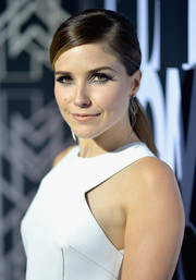 Sophia Bush looked bold with her Cleopatra-inspired eye makeup.