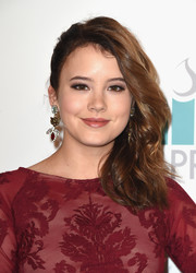 Taylor Spreitler wore an edgy-sweet side sweep to the Thirst Gala.