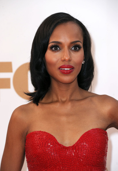 More Pics of Kerry Washington False Eyelashes (1 of 10) - Kerry Washington Lookbook - StyleBistro