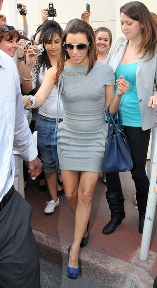More Pics of Eva Longoria Aviator Sunglasses (1 of 14) - Eva Longoria Lookbook - StyleBistro