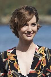 Louise Bourgoin looked oh-so-cute with her short wavy cut at the San Sebastian Film Festival photocall for 'Les Chevaliers Blancs.'