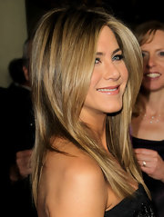 Jennifer Aniston wore her hair long and straight at the 64th Annual Director's Guild of America Awards.
