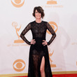 Lena Headey in Alessandra Rich