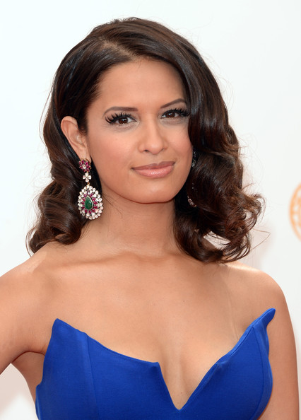 More Pics of Rocsi Diaz Medium Curls (1 of 9) - Rocsi Diaz Lookbook - StyleBistro