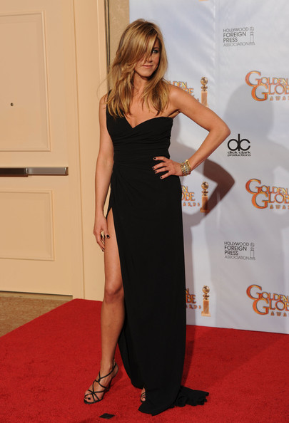 Jennifer Aniston in Valentino Couture, Golden Globes 2010