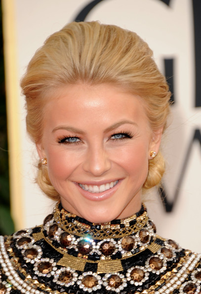 More Pics of Julianne Hough Chignon (3 of 19) - Julianne Hough Lookbook - StyleBistro
