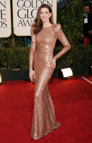 Armani Prive at the 2011 Golden Globes