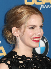 Anna Chlumsky attended the Directors Guild of America Awards wearing a messy low bun.