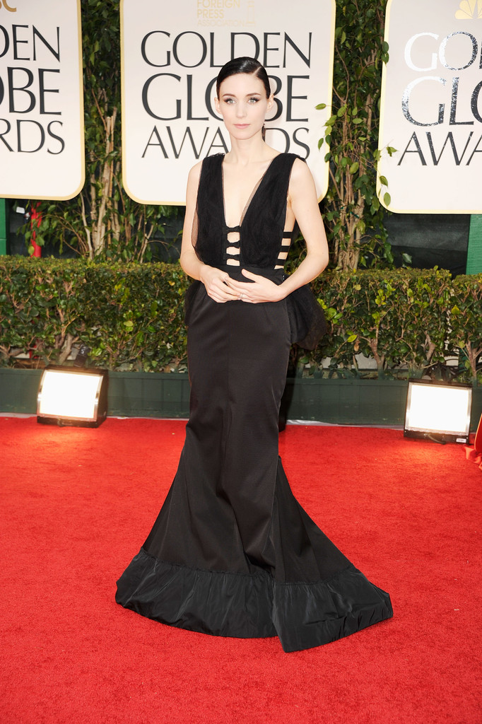 Rooney+Mara in 69th Annual Golden Globe Awards - Arrivals