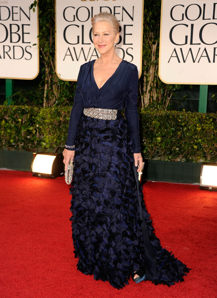 More Pics of Helen Mirren Evening Dress (1 of 12) - Helen Mirren Lookbook - StyleBistro