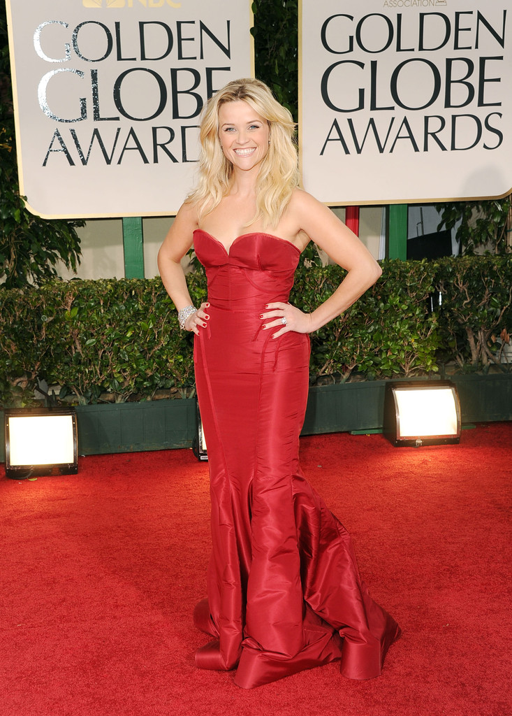 Reese+Witherspoon in 69th Annual Golden Globe Awards - Arrivals
