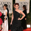Debra Messing in Monique Lhuillier