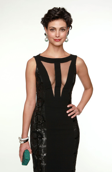 More Pics of Morena Baccarin Dangling Diamond Earrings (1 of 8) - Morena Baccarin Lookbook - StyleBistro