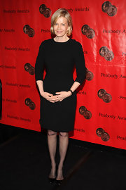Diane Sawyer went for a no-frills look with this basic LBD at the Peabody Awards.