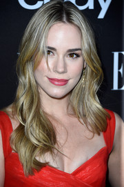 Christa B. Allen attended the Elle Women in Music celebration wearing lovely center-parted waves.