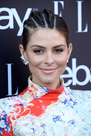 Maria Menounos turned heads with her half-cornrow ponytail at the Elle Women in Music celebration.