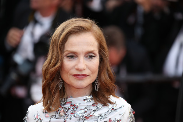 More Pics of Isabelle Huppert Medium Wavy Cut (5 of 12) - Isabelle Huppert Lookbook - StyleBistro [hair,face,hairstyle,beauty,fashion,lip,blond,layered hair,long hair,event,red carpet arrivals,isabelle huppert,cannes,france,cannes film festival,palais des festivals]